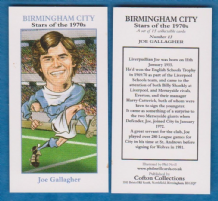 Birmingham City Joe Gallagher 13